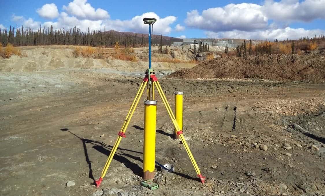 Faro Mine GPS survey