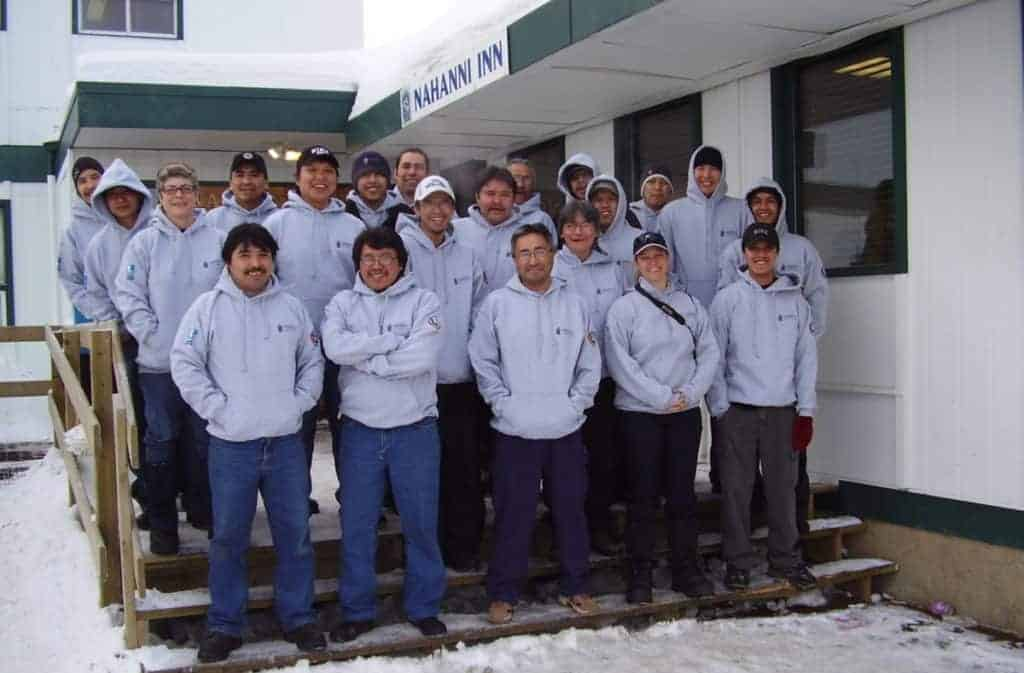 Class Photo - Survey training at Fort Simpson