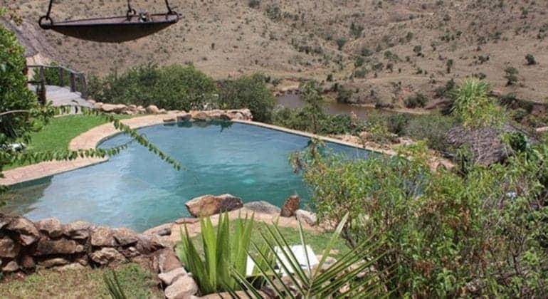 Borana Lodge pool