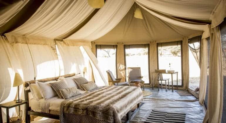 Namiri Plains Guest Tent