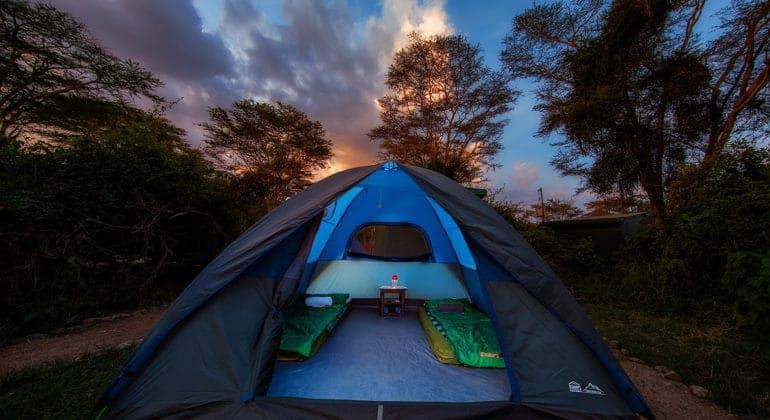 Ol Kinyei Adventure Camp Dome Tents