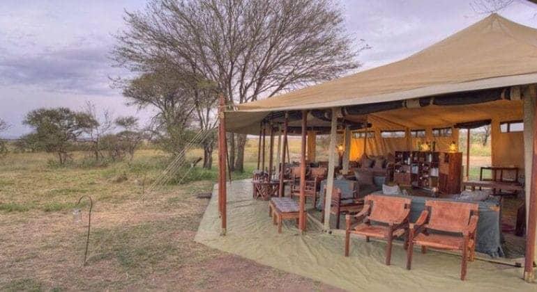 Olakira Camp Main Tent