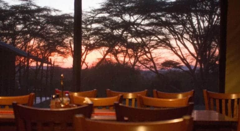 Porini Cheetah Camp Dining
