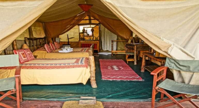 Porini Mara Camp - tent
