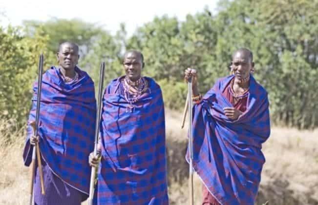 Porini Rhino Camp - local tribes