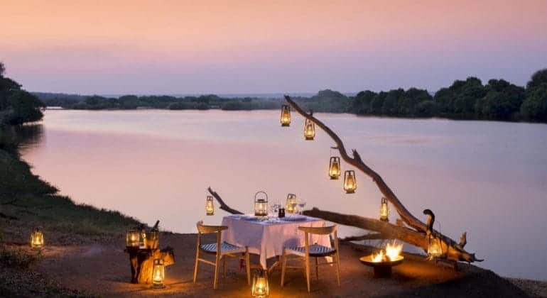 Matetsi Game Reserve Private Dining