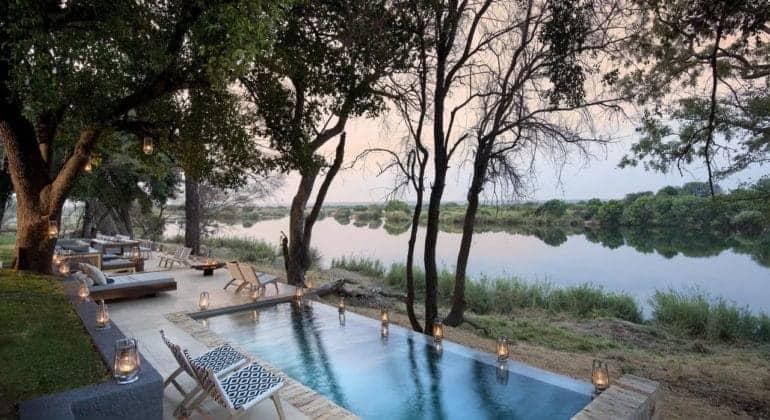 Matetsi River House Pool