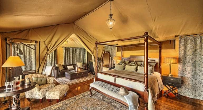 Sand River Tent View