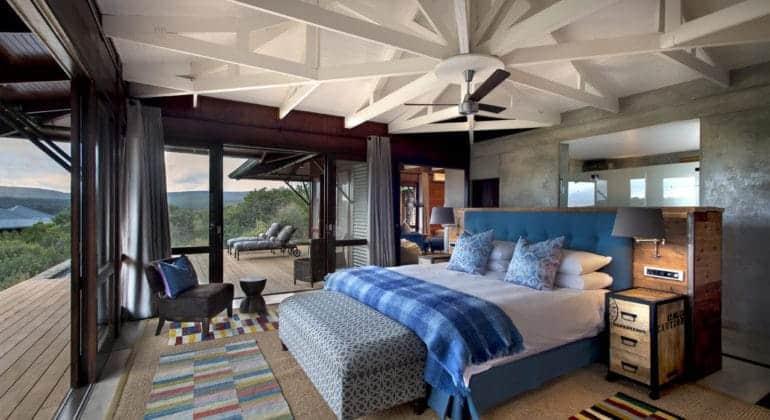 Ecca Lodge Bedroom