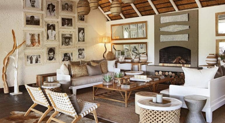 Londolozi Founders Camp Lounge