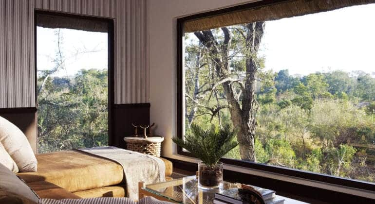 Londolozi Pioneer Camp Suite Lounge