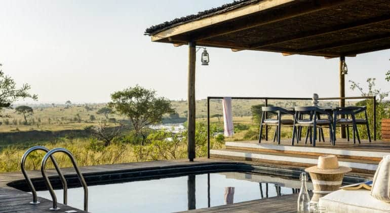 Mara River Tented Camp Pool