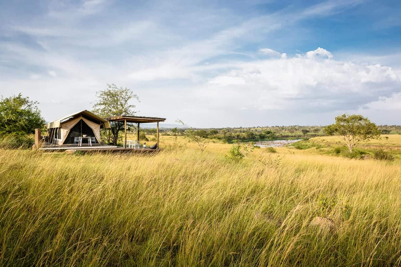 Mara River Tented Camp Tent View