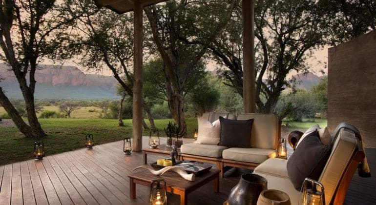 Marataba Safari Lodge Deck