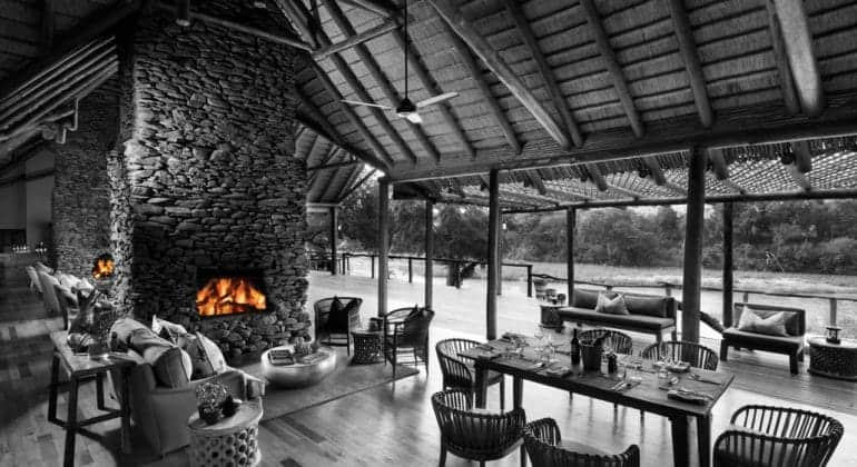 Narina Lodge Dining