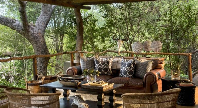 Tinga Lodge Deck