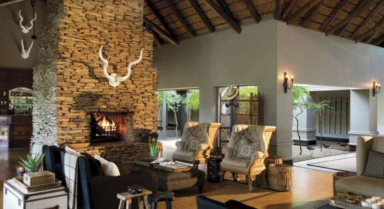 Tinga Lodge Guest Area