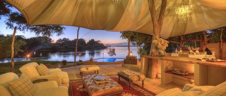 Chonge River Camp Suites Lounge