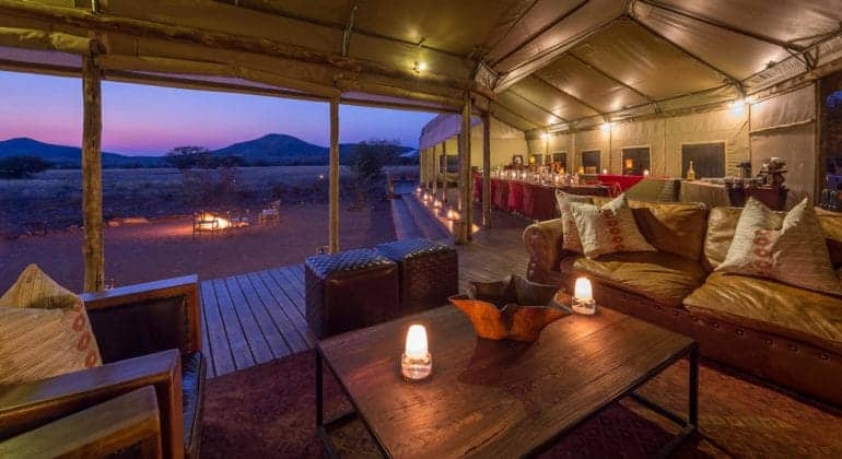Desert Rhino Camp Lounge