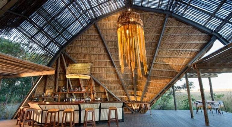 King Lewanika Lodge Bar