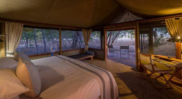 Little Makalolo Camp Bedroom