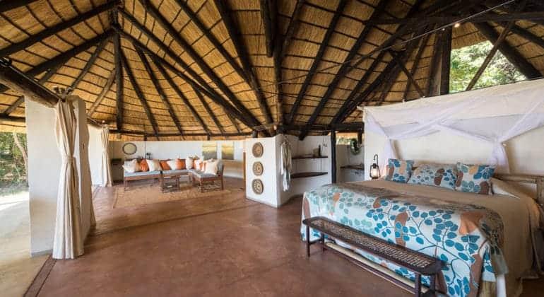 Nkwali Camp Bedroom