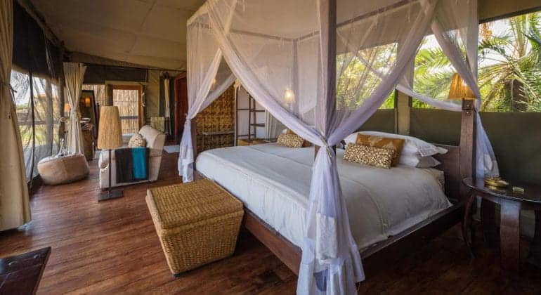 Shumba Camp Bedroom