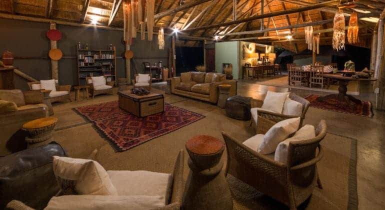 Camp Hwange Lounge