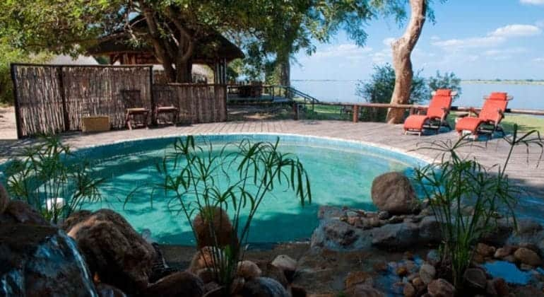 Chiawa Camp Plunge Pool