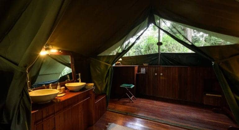 Governors' Private Camp Bathroom