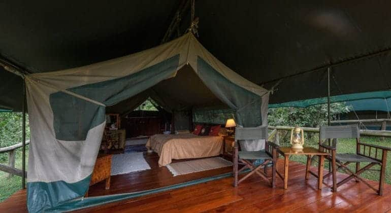 Governors' Private Camp Bedroom