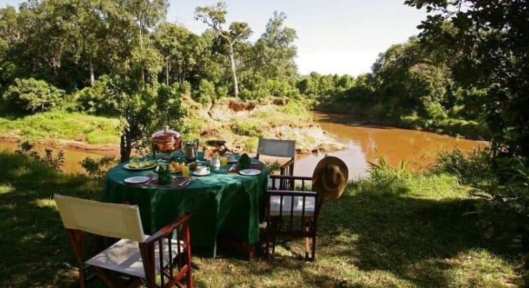 Governors' Private Camp Private Dining