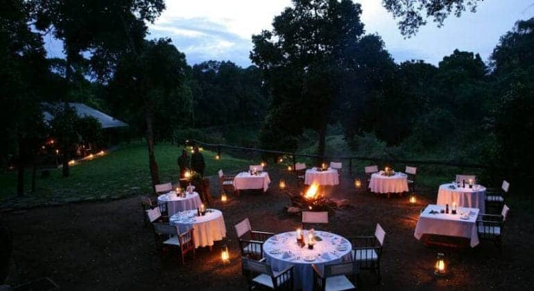 Il Moran Camp Outdoor Dining