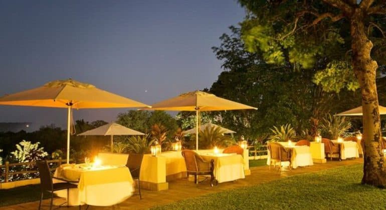 Ilala Lodge Outdoor Dining