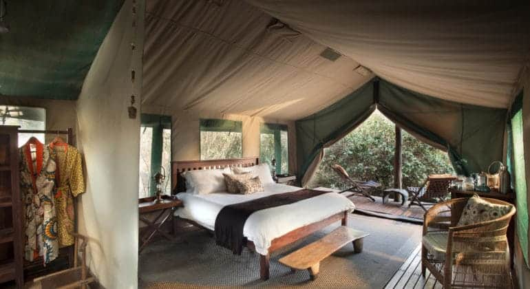 Kanga Camp Bedroom