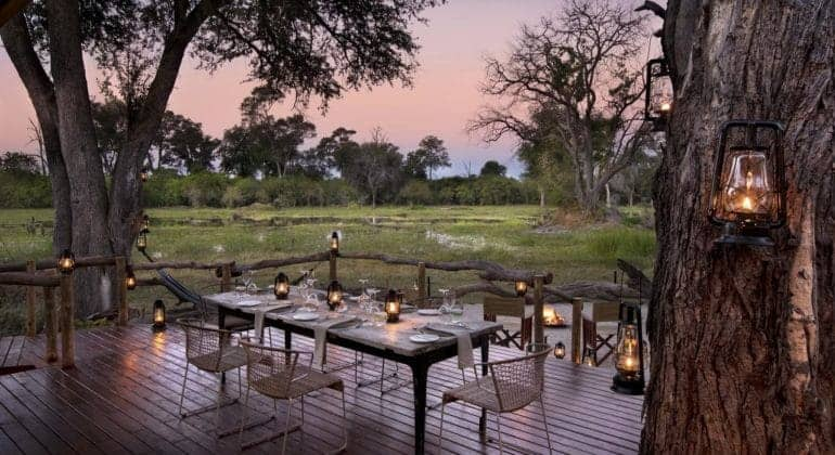 Khwai Tented Camp Dining