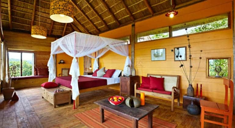 Kyambura Gorge Lodge Guest Room