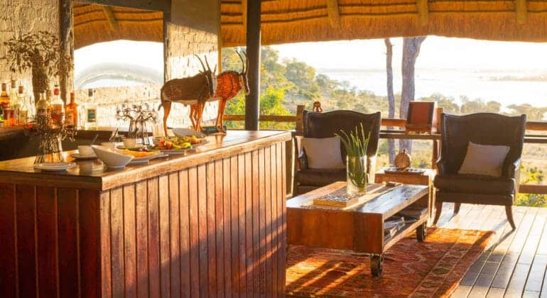 Ngoma Safari Lodge Lounge