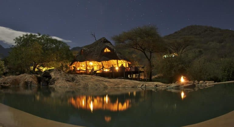 Sarara Camp At Night