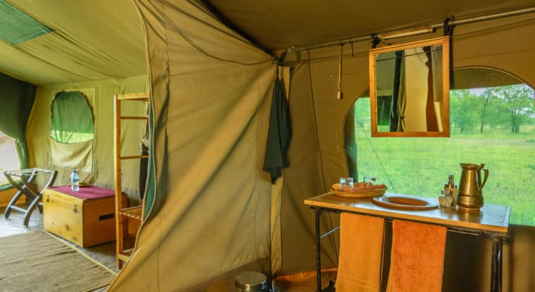 Serengeti Wilderness Camp Bathroom