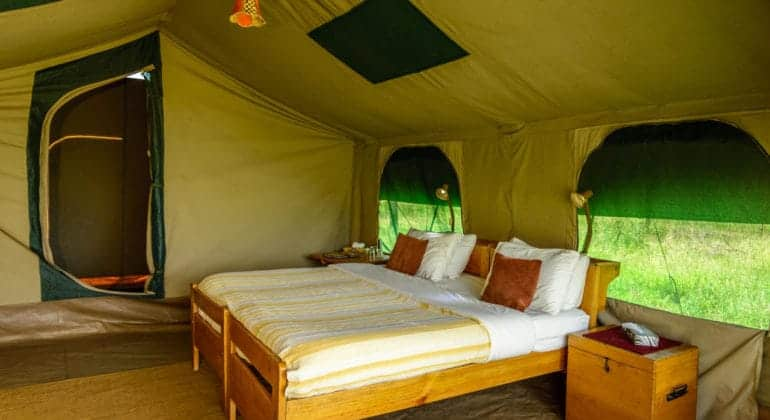 Serengeti Wilderness Camp Bed
