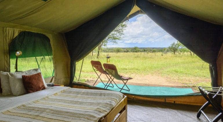 Serengeti Wilderness Camp Bedroom