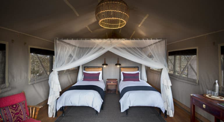 Somalisa Expeditions Bedroom