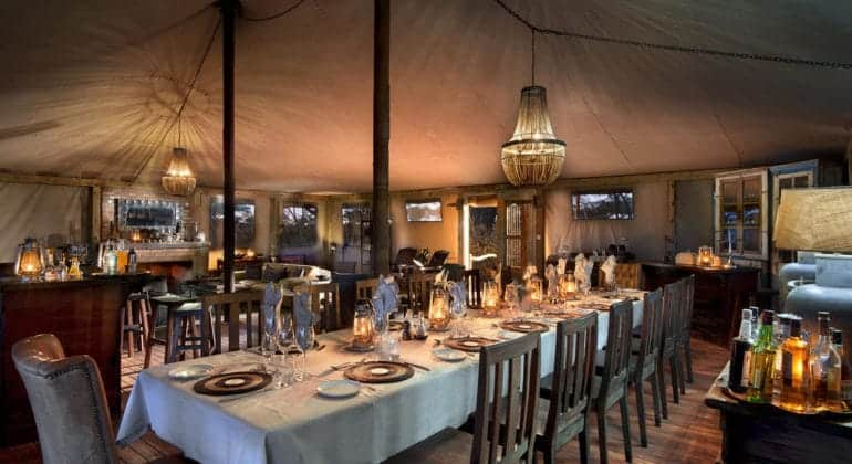 Somalisa Expeditions Dining