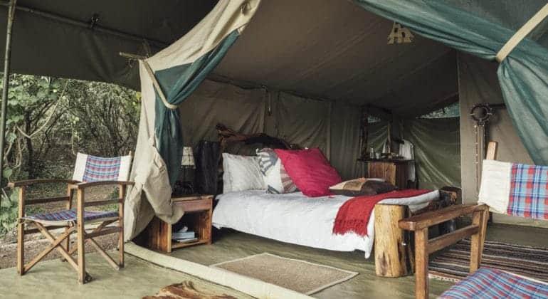 Tangulia Mara Camp Bed