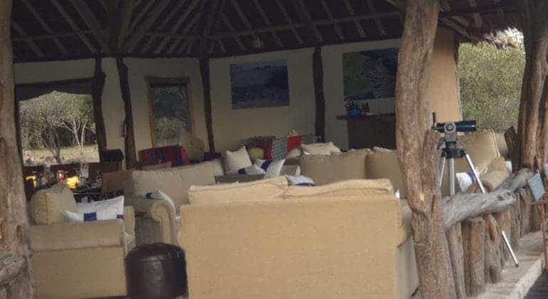 Tangulia Mara Camp Sitting Area