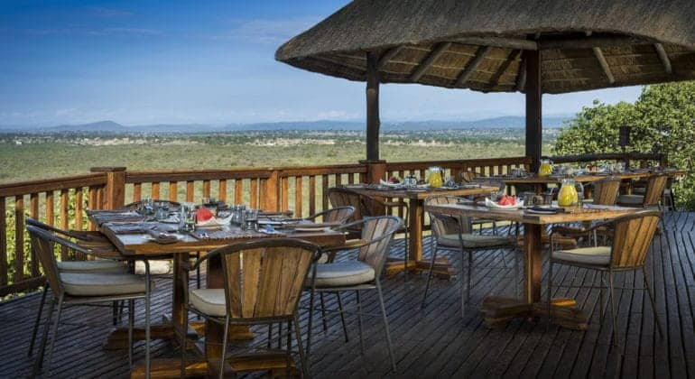 Ulusaba Rock Lodge Breakfast