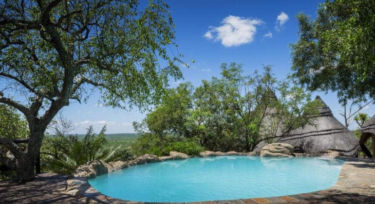 Ulusaba Rock Lodge Pool