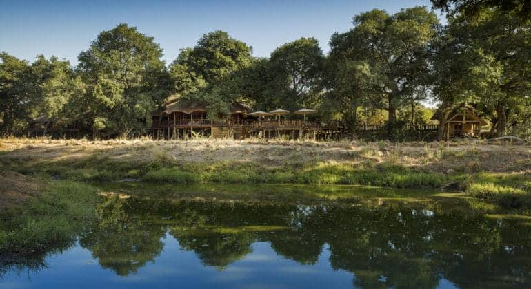 Ulusaba Safari Lodge View