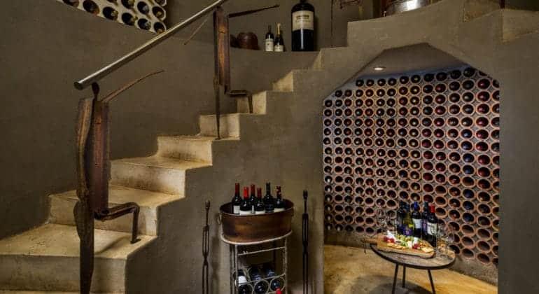Ulusaba Safari Lodge Wine Cellar